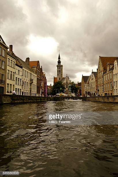 Bruges from a canal