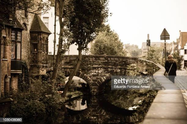 bruges historic town - 西フランダース ストックフォトと画像
