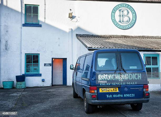 bruichladdich distillery - theasis stock pictures, royalty-free photos & images