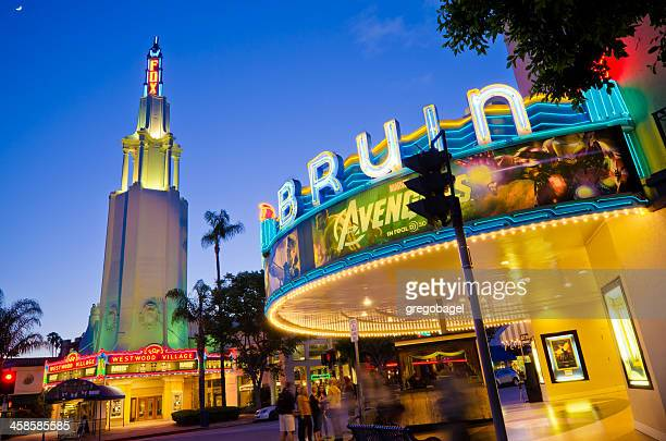 Bruin and Fox Theaters at Westwood Village in Los Angeles