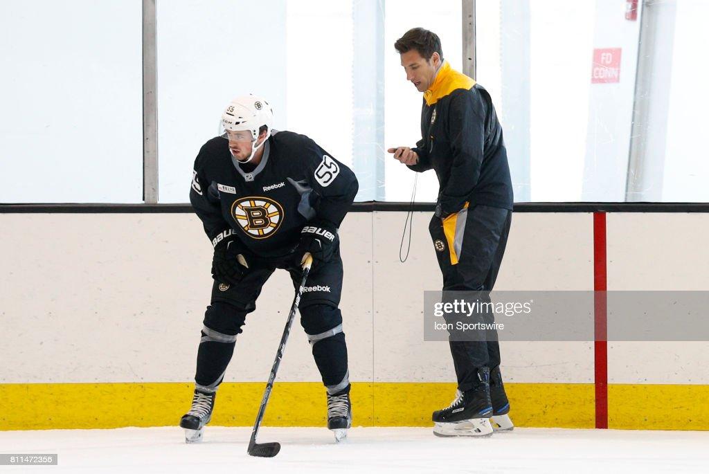 NHL: JUL 08 Bruins Development Camp : News Photo