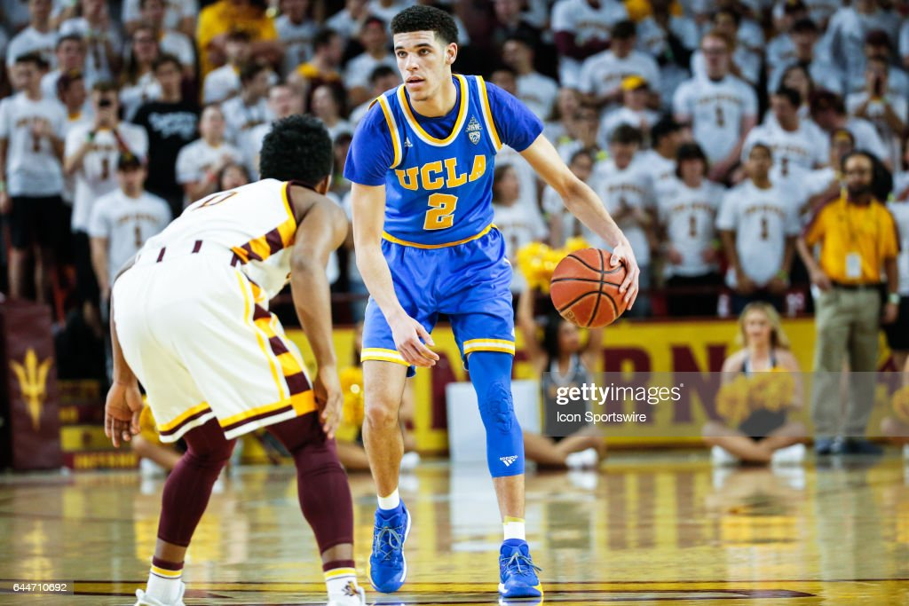 COLLEGE BASKETBALL: FEB 23 UCLA at Arizona State : News Photo