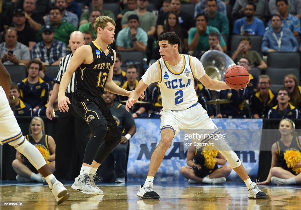 NCAA BASKETBALL: MAR 17 Div I Men's Championship - First Round - UCLA v Kent State : News Photo