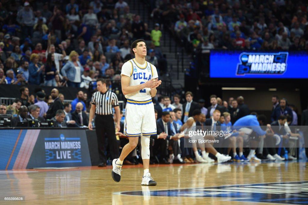 NCAA BASKETBALL: MAR 19 Div I Men's Championship - Second Round - UCLA v Cincinnati : News Photo