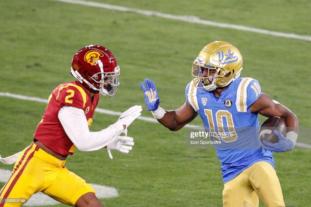 COLLEGE FOOTBALL: DEC 12 USC at UCLA : ニュース写真