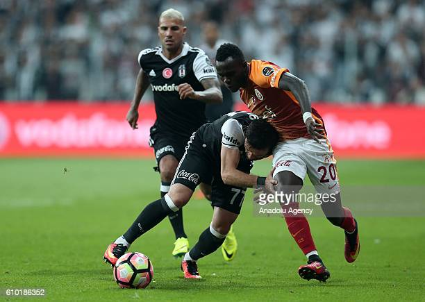 Bruma of Galatasaray in action during the Turkish Spor Toto Super Lig football match between Besiktas and Galatasaray at Vodafone Arena in Istanbul...