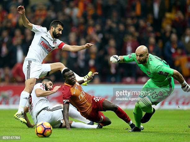 Bruma of Galatasaray in action during the Turkish Spor Toto Super Lig football match between Galatasaray and Gaziantepspor at TT Arena in Istanbul...