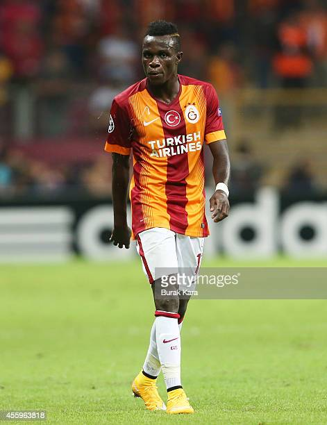 Bruma of Galatasaray in action during the UEFA Champions League group D match between Galatasaray AS and RSC Anderlecht on September 16 at TT Arena...