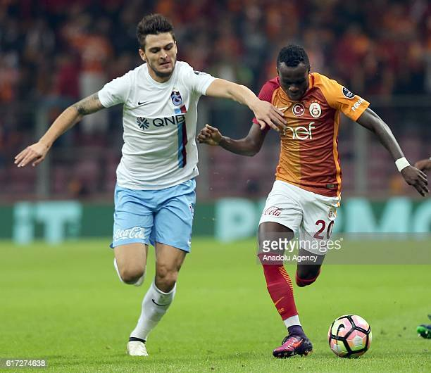 Bruma of Galatasaray in action during Turkish Spor Toto Super Lig match between Galatasaray and Trabzonspor at Turk Telekom Arena Stadium in Istanbul...