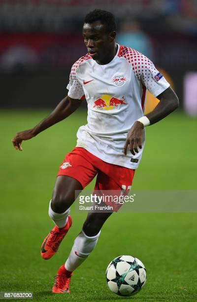 Bruma of Leipzig in action during the UEFA Champions League group G match between RB Leipzig and Besiktas at Red Bull Arena on December 6 2017 in...
