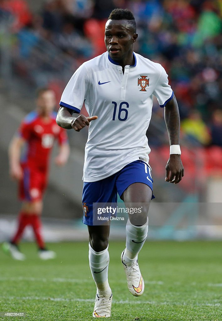 Bruma of Portugal in action during the international friendly match between U21 Czech Republic and U21 Portugal at Eden Stadium on March 31, 2015 in Prague, Czech Republic.
