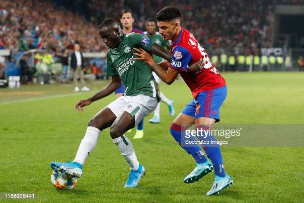 Bruma of PSV during the UEFA Champions League match between Fc Basel v PSV at the St. Jakob Park on July 30, 2019 in Basel Switzerland