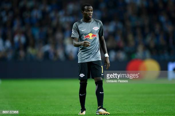 Bruma of RB Leipzig in action during the UEFA Champions League group G match between FC Porto and RB Leipzig at Estadio do Dragao on November 1 2017...