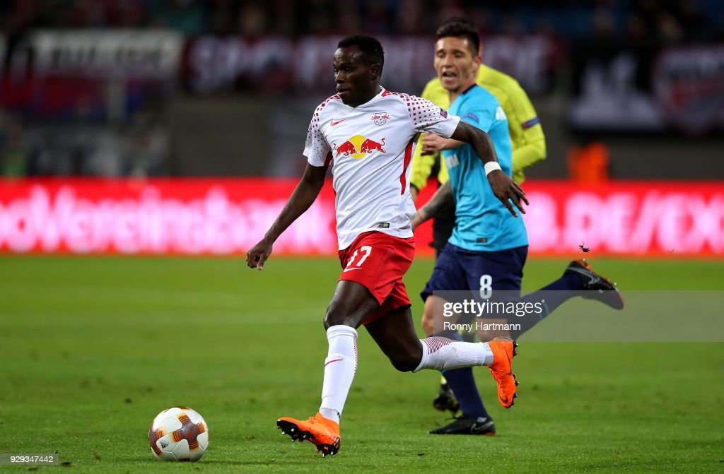 RB Leipzig v Zenit St Petersburg - UEFA Europa League Round of 16: First Leg : News Photo