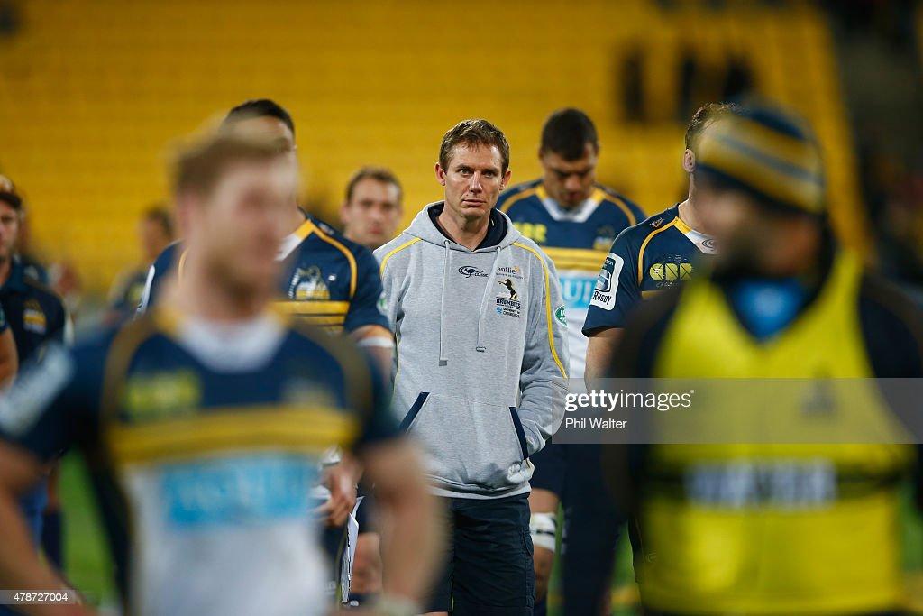 Super Rugby Semi Final - Hurricanes v Brumbies