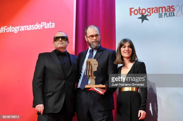 Bruna Cusi and Carlos Areces attend 'Fotogramas Awards' gala at Joy Eslava on February 26 2018 in Madrid Spain