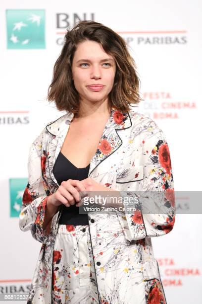Bruna Linzmeyer attends 'O Filme De Minha Vida' photocall during the 12th Rome Film Fest at Auditorium Parco Della Musica on October 30 2017 in Rome...
