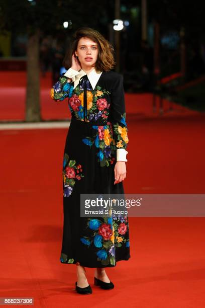 Bruna Linzmeyer walks a red carpet for 'O Filme De Minha Vida' during the 12th Rome Film Fest at Auditorium Parco Della Musica on October 30 2017 in...