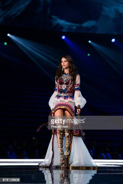 Bruna Lirio attends 2017 Victoria's Secret Fashion Show In Shanghai Show at MercedesBenz Arena on November 20 2017 in Shanghai China