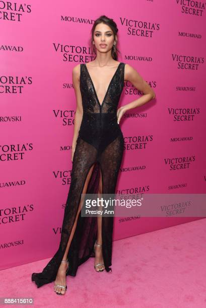 Bruna Lirio attends 2017 Victoria's Secret Fashion Show In Shanghai After Party at MercedesBenz Arena on November 20 2017 in Shanghai China