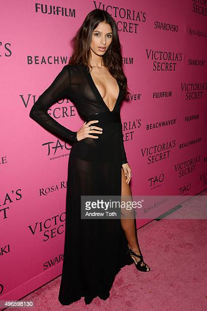 Bruna Lirio attends the 2015 Victoria's Secret Fashion Show after party on November 10 2015 in New York City