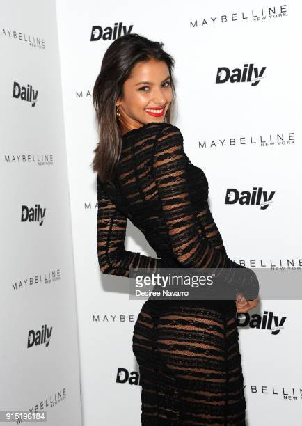 Bruna Lirio attends the Daily Front Row's 15th Anniversary Celebration on February 6 2018 in New York City