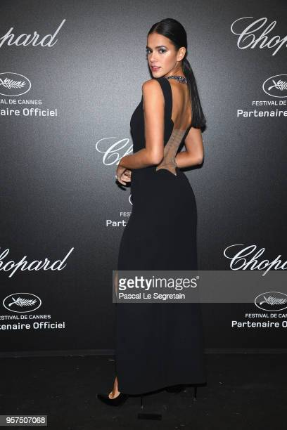 Bruna Marquezine attends Chopard Secret Night during the 71st annual Cannes Film Festival at Chateau de la Croix des Gardes on May 11 2018 in Cannes...