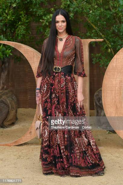 Bruna Marquezine attends the Christian Dior Womenswear Spring/Summer 2020 show as part of Paris Fashion Week on September 24 2019 in Paris France