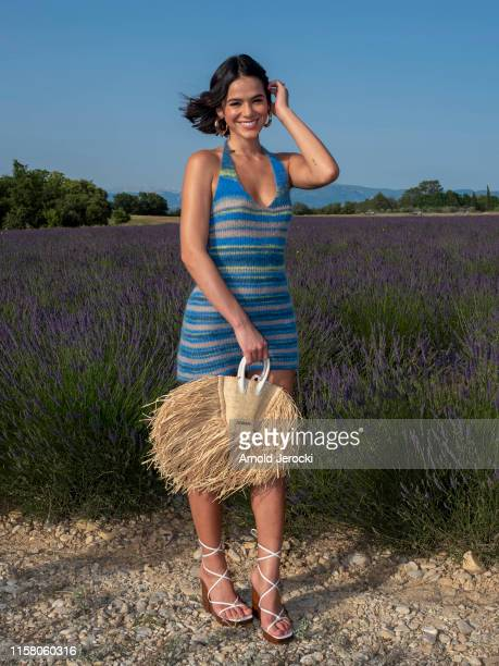 Bruna Marquezine attends the Jacquemus Spring Summer 2020 show on June 24, 2019 in Valensole, France.