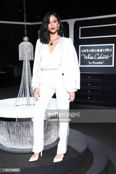 Bruna Marquezine attends the White Cabaret La Premiére Intimissimi Show on October 29 2019 in Verona Italy