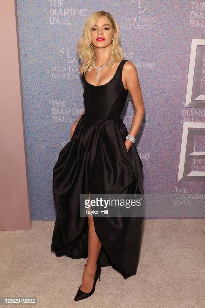 Bruna Marquezine the 2018 Diamond Ball at Cipriani Wall Street on September 13 2018 in New York City
