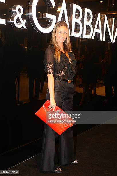 90f2b569b384a Bruna Trenembaum attends the DolceGabbana cocktail party on April 9 2013 in Sao  Paulo Brazil