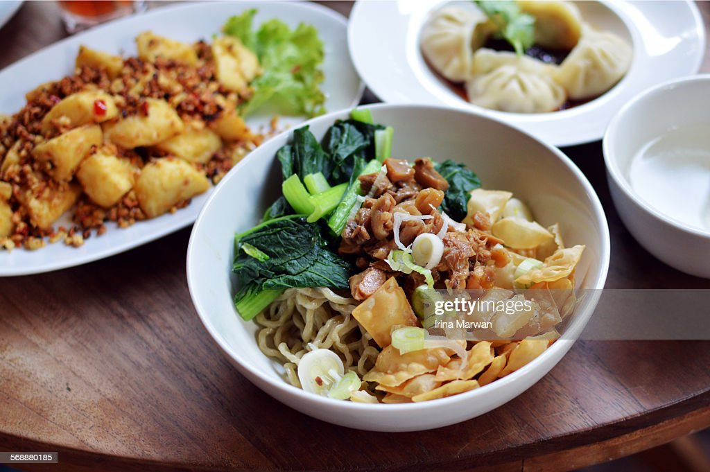 Brunch at the chinese restaurant : Stock Photo
