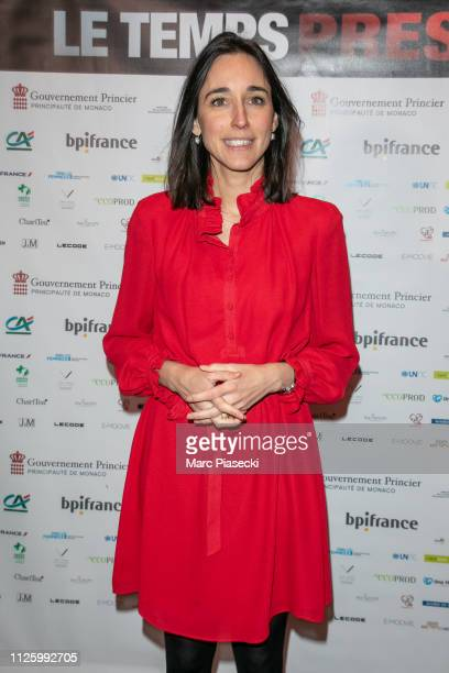 Brune Poirson attends the 'Le Temps Presse' film festival opening ceremony at Publicis Champs Elysees on January 29 2019 in Paris France