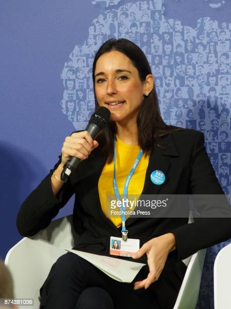 Brune Poirson French Secretary of State Ministry for an Ecological and Solidary Transition speaks at the United Nations Framework Convention on...