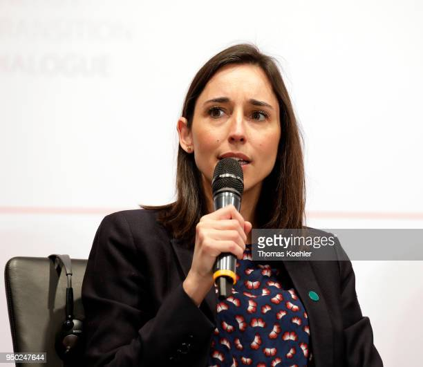 Brune Poirson State Secretary to the Minister for the Ecological and Inclusive Transition France speaks during the 'Berlin Energy Transition...