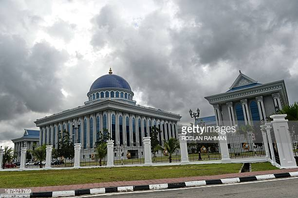 A Brunei parliament building is seen in the capital city Bandar Seri Begawan on April 26 2013 Brunei has just finished hosting an annual ASEAN summit...
