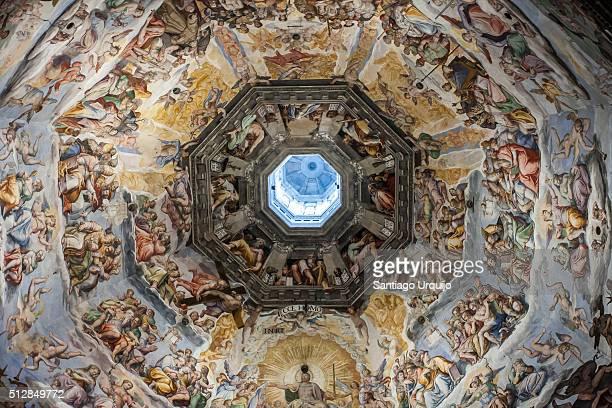brunelleschi cupola - renaissance stock pictures, royalty-free photos & images