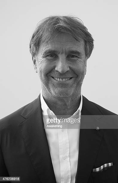 Brunello Cucinelli attends Day 3 of RepIdee on June 6 2015 in Genoa Italy RepIdee is a community meeting of the Repubblica newspaper with autors...