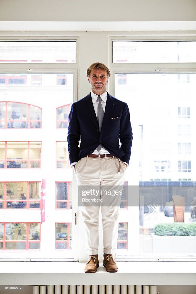 Brunello Cucinelli, chairman and chief executive officer of Brunello Cucinelli SpA : News Photo
