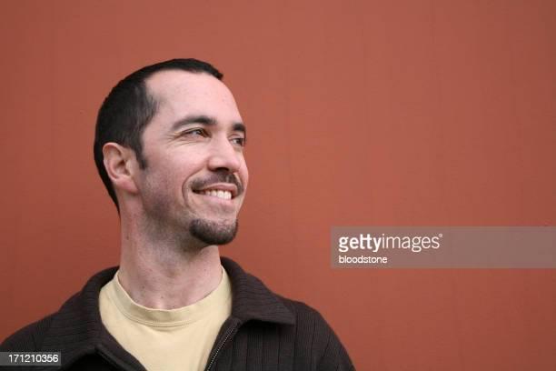 Lächelnde Mann