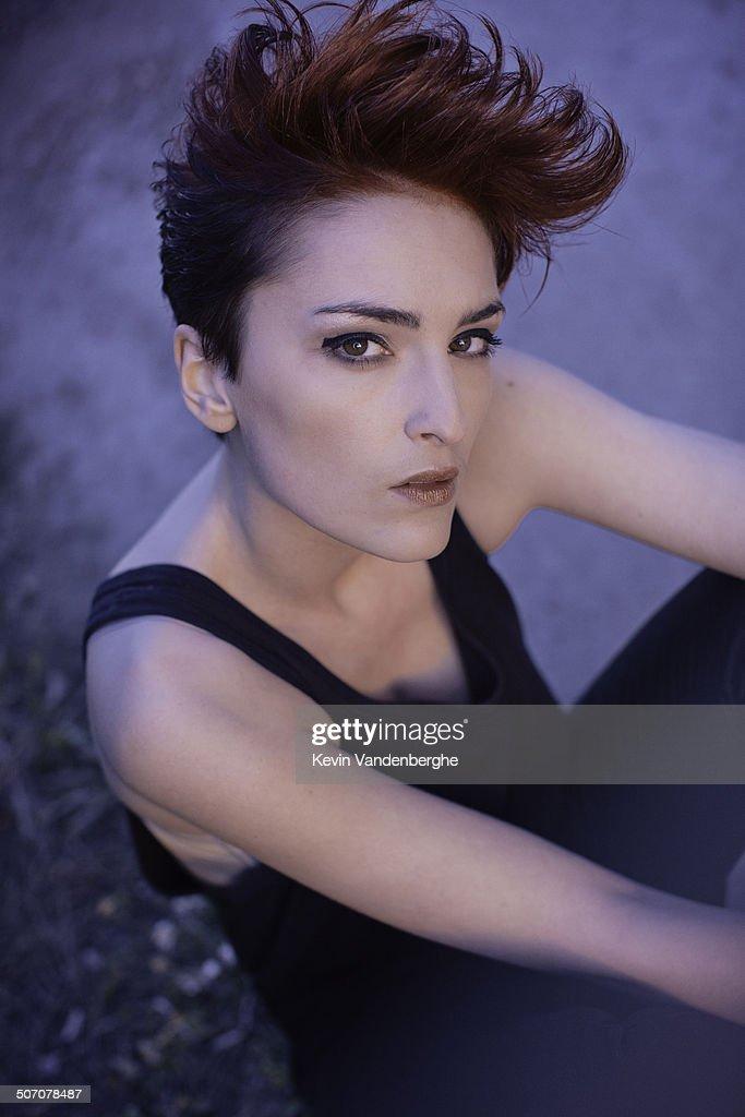 brunette model : Stock Photo