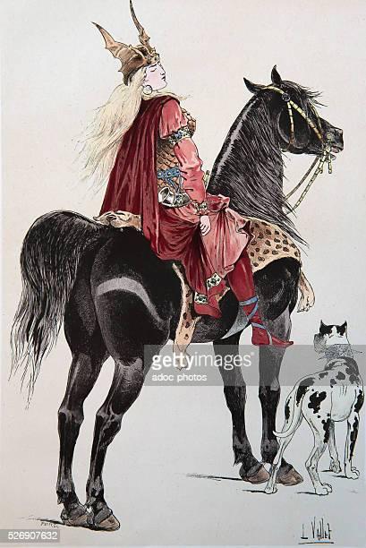 Brunhilda of Austrasia In the 6th century
