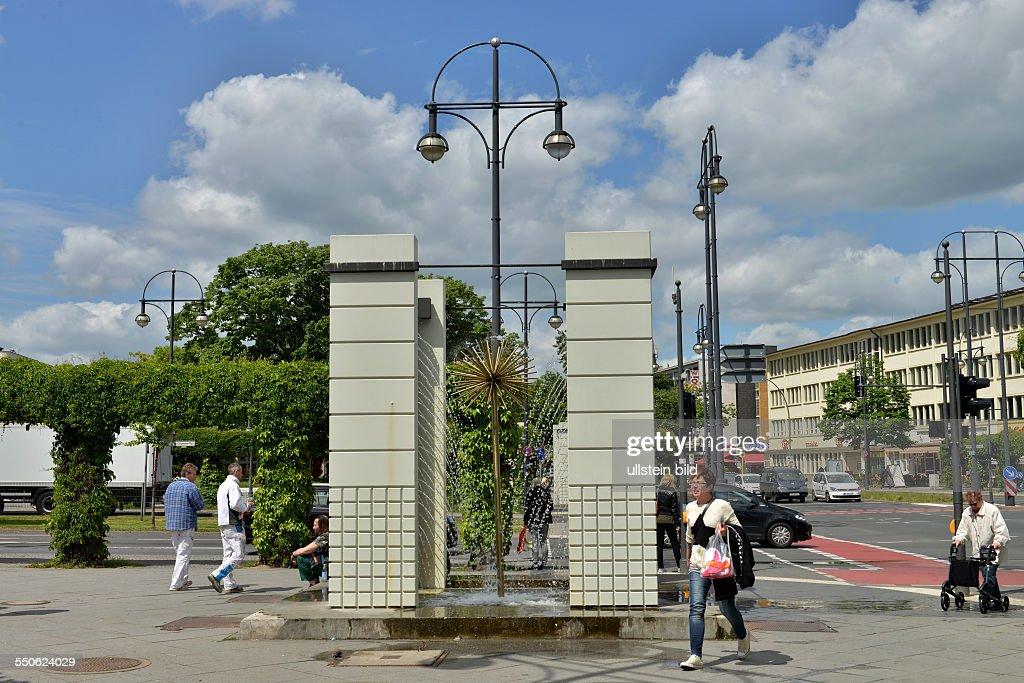Brunnen Kurt Schumacher Platz Tegel Berlin