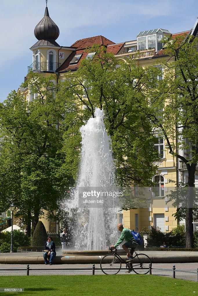 Brunnen Am Viktoria Luise Platz