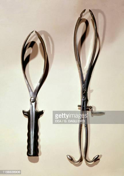 Brunninghausen forceps and Brulatour forceps, 19th century.