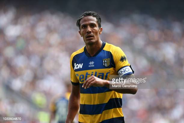 Bruno Alves of Parma Calcio in action during the Serie A match between FC Internazionale and Parma Calcio Parma Calcio wins 10 over Fc Internazionale