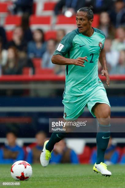 Bruno Alves of Portugal national team during the Group A FIFA Confederations Cup Russia 2017 match between Russia and Portugal at Spartak Stadium on...
