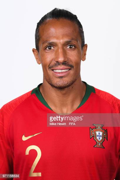 Bruno Alves of Portugal poses for a portrait during the official FIFA World Cup 2018 portrait session at on June 10 2018 in Moscow Russia