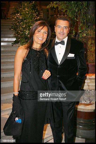 Bruno and Agnes Cromback at Gala Of The Association For The Influence Of The National Paris Opera At Palais Garnier